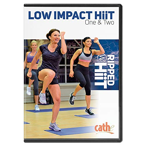 Cathe Friedrich Ripped with Hiit Low Impact HiiT Cardio Workout DVD