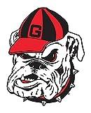Fremont Die NCAA Georgia Bulldogs Vinyl Team Logo Magnet, 12', Team Colors