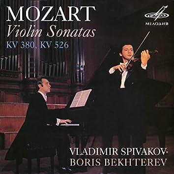 Mozart: Violin Sonatas, K. 380 & K. 526