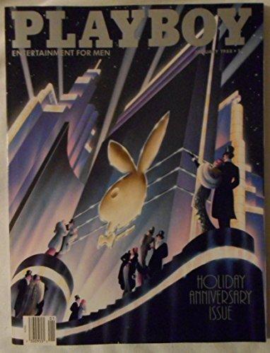 Playboy January 1988 Holiday Anniversary Issue - Arnold Schwarzenegger
