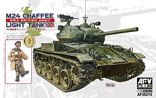 Unbekannt AFV Club de af35210 – Modèle Kit M24 Chaffee Réservoir WW 2 British Army Version