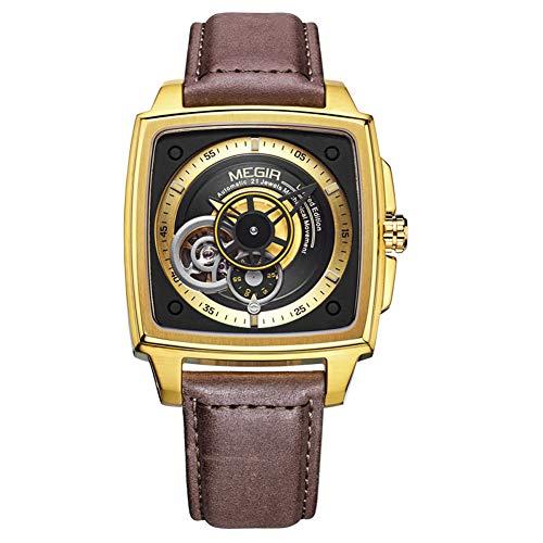 Megir Relojes para Hombre Automático De Primera Marca Hombres De Lujo Relojes Fecha Mes...