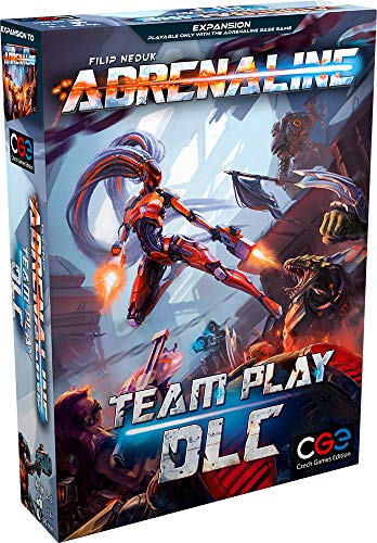 Czech Games Edition 043 - Adrenaline: Team Play DLC - [Expansion]