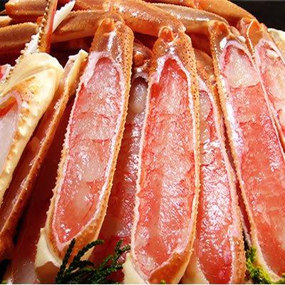 生ズワイガニ【上削ぎ】蟹脚1kgセット[冷凍]化粧箱入り