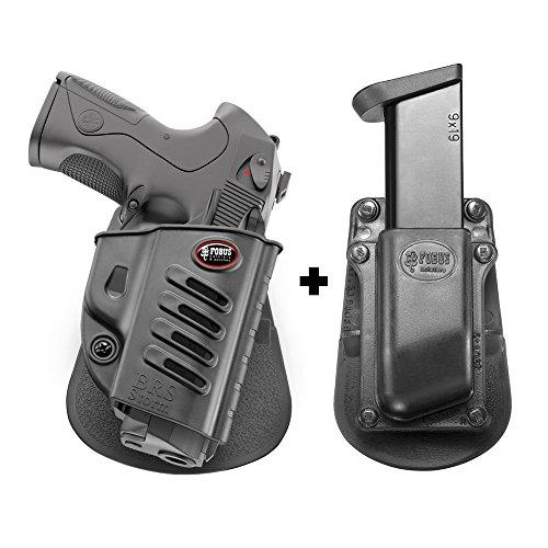 Fobus BRS Paddle Conceal Concealed Carry Holster Taurus PT840,PT640,PT100,PT800, PT809+ Single Mag Pouch