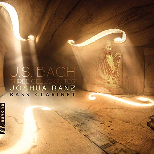 J.S. Bach: 3 Cello Suites (Arr. J. Ranz for Bass Clarinet)