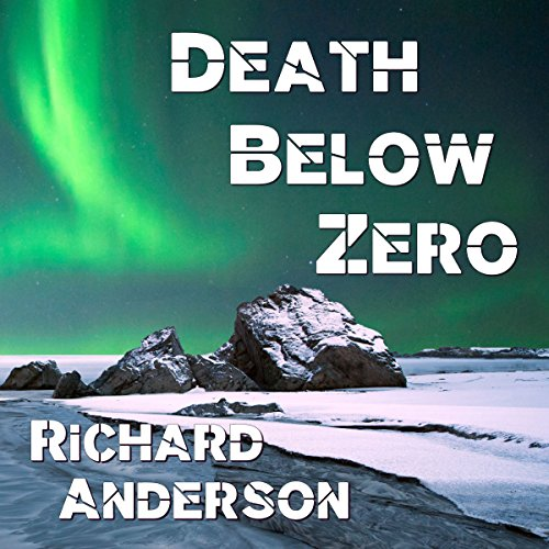 Death Below Zero audiobook cover art
