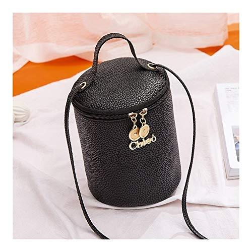 TEYUN - Bolsa de almohada con patrón de lichi (color: negro)