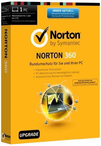 Norton 360 2014 - 1 PC - Upgrade [import allemand]