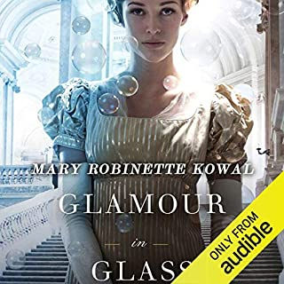 Glamour in Glass audiobook cover art