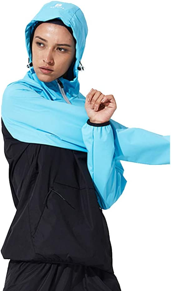 Hot Sweat Sauna Sportswear Workout Exercise Fitness Weight Loss Calorie Fat Burner Body Shaper Womens Suits Jacket /& Pants 010
