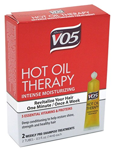 Vo5 Hot Oil Therapy Treatment 2 Count 0.5 Ounce (14ml) (2 Pack)