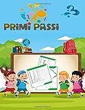primi passi 3: Linee di lettere: libro di attività per bambini: età 3+: libro di attività per bambin...