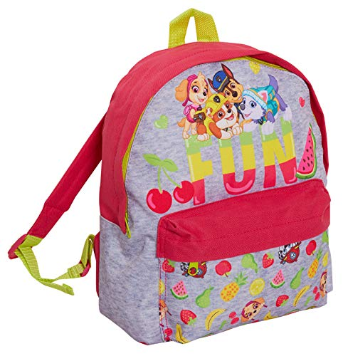 Girls Paw Patrol Backpack with Pocket Skye Everest School Nursery Lunch Book Bag Rucksack