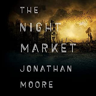 The Night Market audiobook cover art