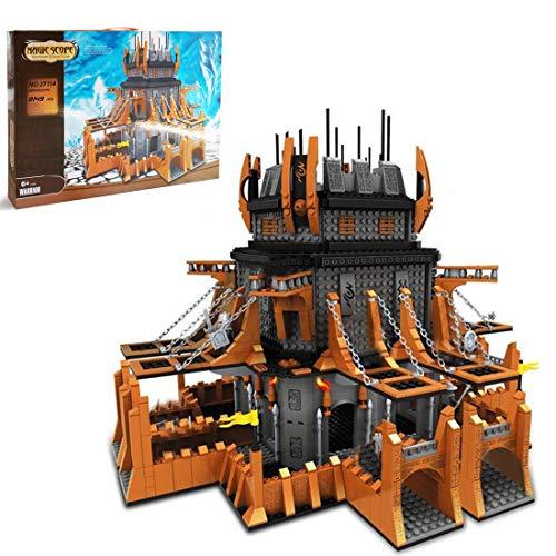 Elroy369Lion MOC Wow Orc - Juego de 2149 minicajas de construcción para adultos