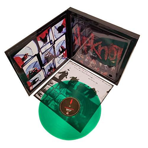Slipknot 2009 Road Runner Records Slime Green Vinyl LP Debut Album + T-Shirt Box Set (M)