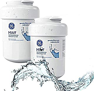 Refrigerator Water Filter Compatible with MWF, MWFA, MWFDS, MWFINT, HWF, HWFA,Kenmore 46-9991,46-9996(Pack of 2)