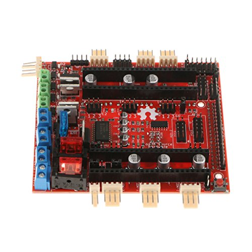 SM SunniMix Tarjeta Controladora 3D Impresora 32bit Cortex M3 Arm para Arduino Due Ramps-Fd