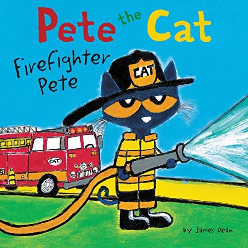 Couverture de Pete the Cat: Firefighter Pete