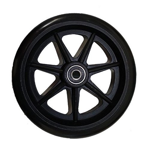 """6"""" Walker & Rollator Replacement Wheel_Top Quality_Fits Most Rollators (4)"""