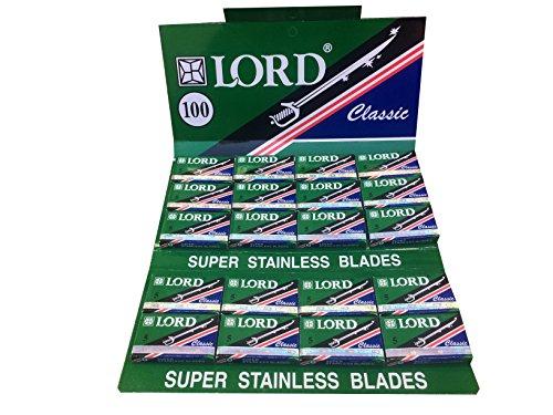 100 Lord Classic Super Stainless Rasierklingen