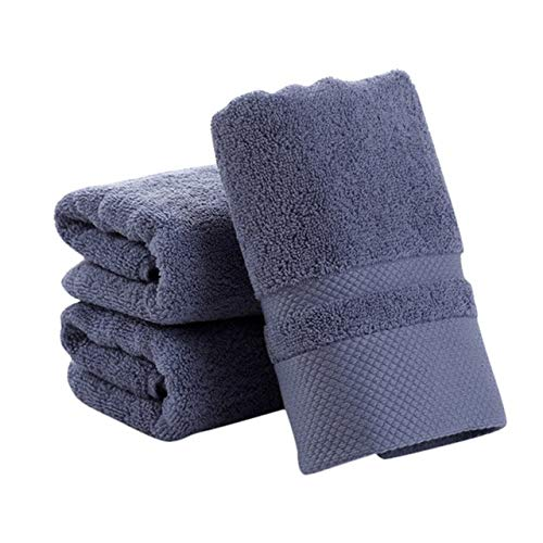 Xiaobing Toalla de algodón Puro Color Puro, pañuelo Suave, Toalla Gruesa, Toalla de baño, baño -LH-C29