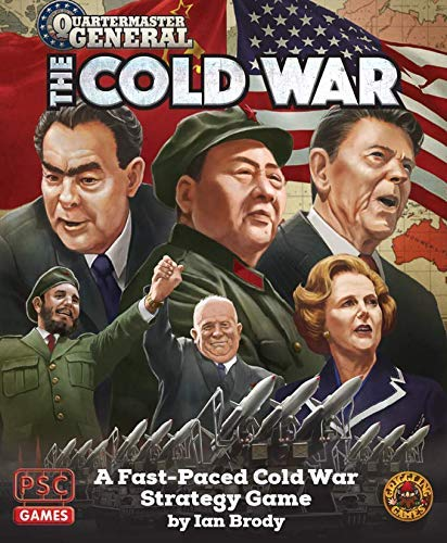 The Plastic Soldier Company PSCQMG201 Quartermaster General: The Cold War, Multicoloured