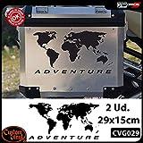2 Pegatinas Globo para R 1200 1150 1100 GS Adventure casos R GS Adv