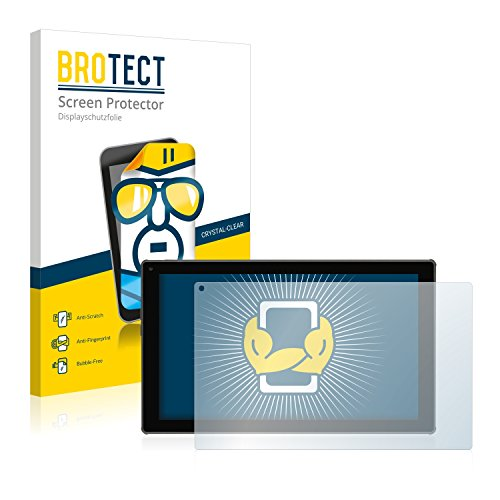 BROTECT Schutzfolie kompatibel mit Blaupunkt Endeavour 101G (2 Stück) klare Bildschirmschutz-Folie