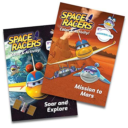 Space Racers Activity Books: Bonus Two-Book Set, Ed. 1