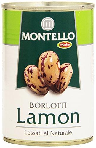 Montello Fagioli Borlotti Lamon Lessati al Naturale, 400g