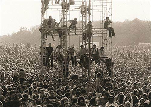 Avanti Woodstock America Collection Birthday Card
