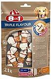 8in1 Triple Flavour Osso XS, 21 Pezzi, Osso Masticabile...