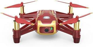 RyzeTello Drone ideaal voor korte video's met Ez-Shots, compatibiliteit met VR-brillen en gamecontrollers, 720p HD-overdracht en 100 meter bereik, Tello iron Man, Tello Iron Man