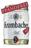 2 x Krombacher barril de 5 litros de 4,8% vol