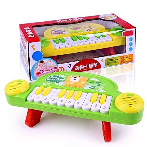 Elektronisches Klavierspielzeug, Kreative 10-Tasten-Früherziehungstastatur, for Kinderspielzeug