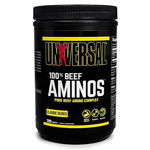 Universal Nutrition 100% Beef Aminos Capsules Pack of 200