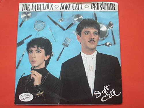 Soft Cell Bedsitter 7' Some Bizarre BZS6 EX/VG 1981 picture sleeve, there is 2mm drill hole in label rim
