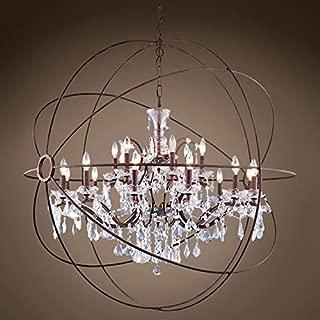 alberto orb chandelier