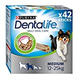 DENTALIFE Medium Dog Treat Dental Chew 42 Stick