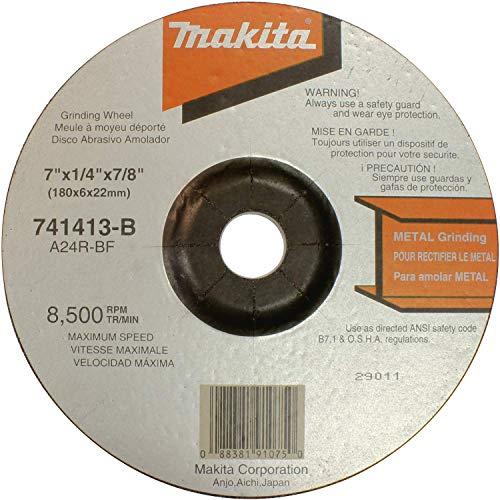 Makita 741413-B-10 7-Inch Grinding Wheel, 10-Pack