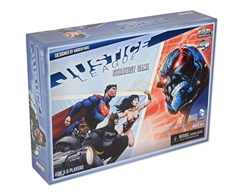 NECA Justice League Strategy Game