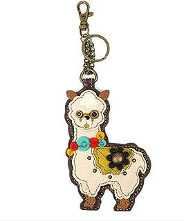 Chala Coin Purse/Key Fob - Llama