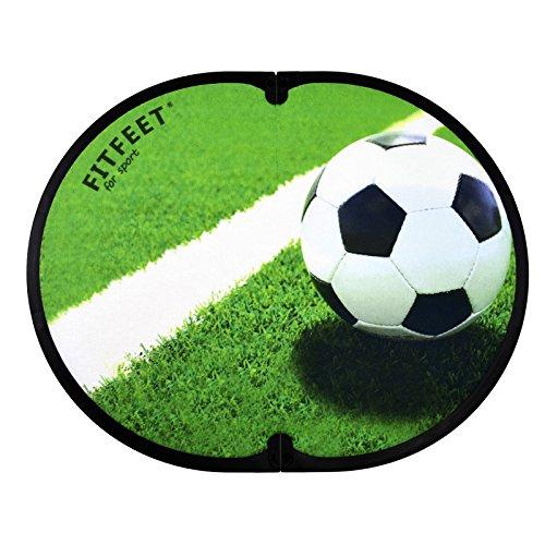 Fit-Feet FITFEET for Sport Tappetino Fuori Doccia con Stampa a Tema Sport (Calcio)