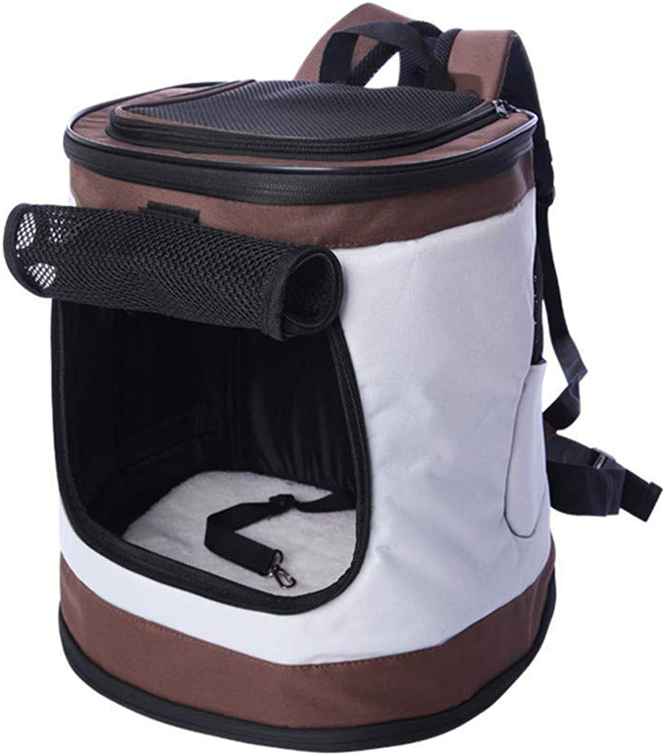 Pet Bag Outdoor Bucket Bag Portable  Breathable and Easy to Store ,for Cats and Puppies, Designed for Travel, Hiking, Walking & Outdoor Use