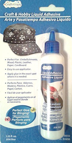 Craft and Hobby Liquid Adhesive 1.25 fl oz