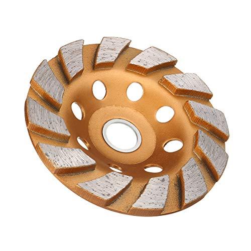 KANJJ-YU Hormigón de 100 mm de Diamante Muela Copa Disco de la Rueda de hormigón Granito Piedra de moler Herramientas
