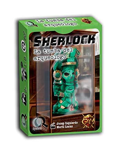 GM Games- Sherlock: la Tumba del arqueólogo (GDM Games GDM124)