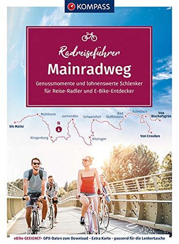 KV RRF 6916 Mainradweg von den Quellen nach Mainz: von den Quellen nach Mainz - 645 km. GPX-Daten zum Download. (KOMPASS-Fahrradführer, Band 6916)